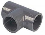 PVC T-kus 90 mm 90° lepení x lepení