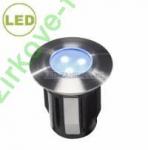 LED svítidlo ALPHA 0,5 W - Nerez  teplá bílá