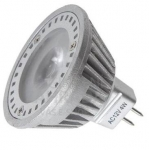 Power LED, MR16, 12 V AC, GU5.3, 4 W, Luxeco  VÝPRODEJ