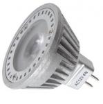 Power LED, MR16, 12 V AC, GU5.3, 4 W, Luxeco  VÝPRODEJ