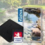 Fatra Jezírková folie Aquaplast 805V 1,5 mm šíře 2 m černá - izolace, pokládka
