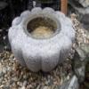 Kamenné nádržky - tsukubai
